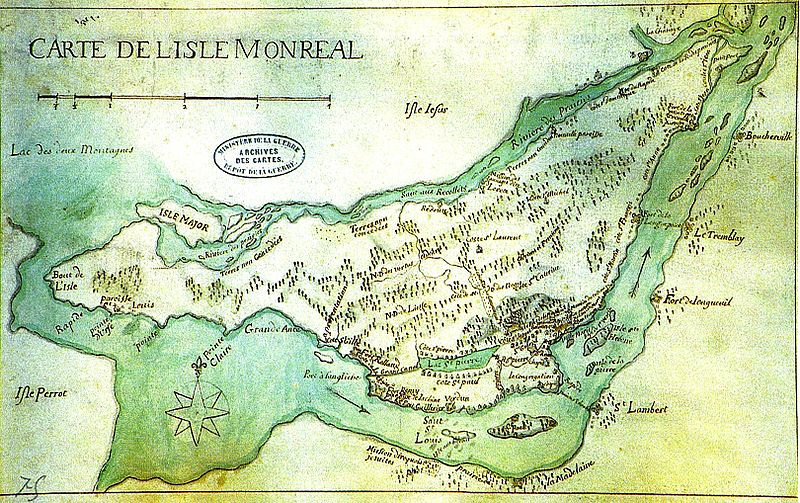 Carte Canada Mappy.So Many Ancestors Mappy Monday Map Of Montreal 1700