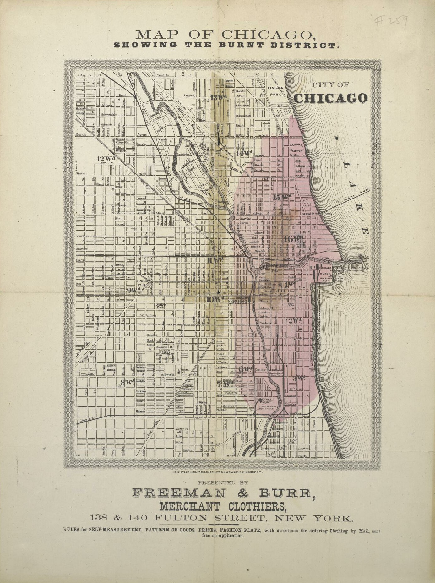 So Many Ancestors March - Chicago map new york
